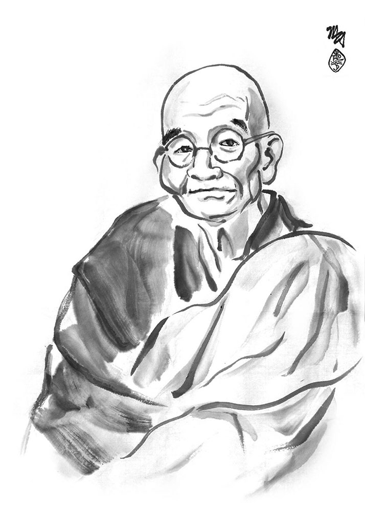 Zen Teachings of Homeless Kodo - Book Illustration by Michael D. Hofmann