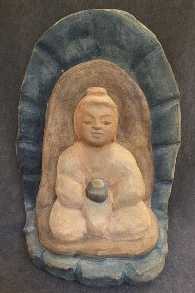 Healing Buddha by Michael Hofmann