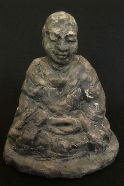 Monk Meditating by Michael Hofmann