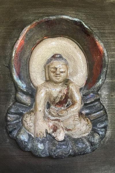 Earth Witnessing Buddha by Michael Hofmann